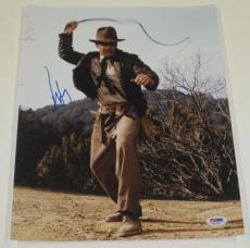 Harrison Ford Signed 11x14 Photo Autograph Indiana Jones Star Wars Proof Psa B
