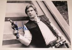Harrison Ford Signed 11x14 Photo Autograph Proof Star Wars Indiana Jones Coa C