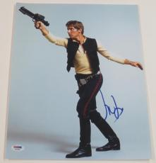 Harrison Ford Signed 11x14 Photo Autograph Star Wars Han Solo Proof Pic Psa A