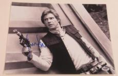 Harrison Ford Signed 11x14 Photo Autograph Star Wars Han Solo Proof Pic Psa C