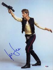 Harrison Ford  SIGNED 11x14 Photo Han Star Wars FULL LETTER PSA/DNA AUTOGRAPHED
