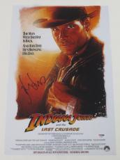 Harrison Ford Signed 12x18 Photo Indiana Jones Full Big Autograph Proof Psa Coa