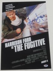 Harrison Ford Signed 12x18 Photo The Fugitive Full Big Autograph Proof Psa Coa