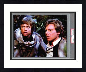 Harrison Ford Signed 8x10 Star Wars Photo PSA/DNA PSA Graded GEM MINT 10