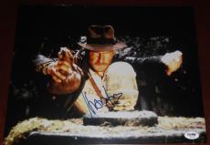 HARRISON FORD Signed Auto Indiana Jones 11x14 Photo PSA DNA COA