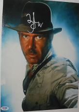 HARRISON FORD Signed Auto. RAIDERS OF THE LOST ARC 11X14 Movie PHOTO PSA DNA