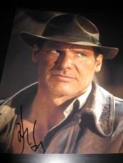 HARRISON FORD SIGNED AUTOGRAPH 11x14 INDIANA JONES PROMO IN PERSON COA RARE A