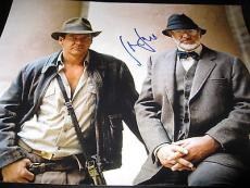 HARRISON FORD SIGNED AUTOGRAPH 11x14 INDIANA JONES PROMO IN PERSON COA RARE M