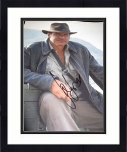HARRISON FORD SIGNED AUTOGRAPH 11x14 INDIANA JONES PROMO IN PERSON COA RARE Z