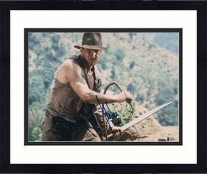 HARRISON FORD SIGNED AUTOGRAPH 11x14 PHOTO -INDIANA JONES, HAN SOLO, STAR WARS C