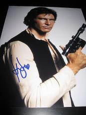 HARRISON FORD SIGNED AUTOGRAPH 11x14 PHOTO STAR WARS PROMO HANS SOLO IN PERSON