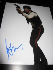 HARRISON FORD SIGNED AUTOGRAPH 11x14 STAR WARS HANS SOLO RETURN OF THE JEDI X5