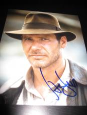 HARRISON FORD SIGNED AUTOGRAPH 8x10 PHOTO INDIANA JONES IN PERSON COA AUTO RARE