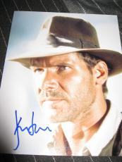 HARRISON FORD SIGNED AUTOGRAPH 8x10 PHOTO INDIANA JONES STAR WARS IN PERSON C