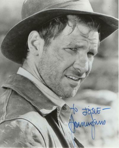 HARRISON FORD SIGNED AUTOGRAPH 8x10 PHOTO - VINTAGE FULL SIGNATURE - STAR WARS