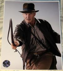 "Harrison Ford Signed Autograph ""indiana Jones"" Official Hologram Promo Photo Coa"