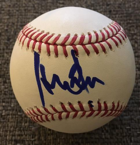 Harrison Ford Signed Autograph Star Wars Official Major League Baseball Beckett