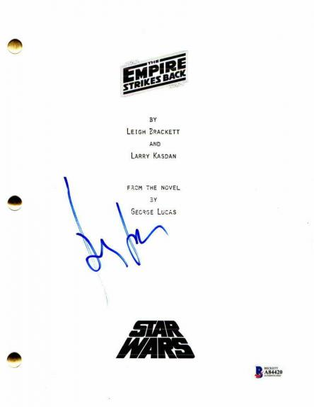Harrison Ford Signed Autograph - Star Wars: The Empire Strikes Back Movie Script