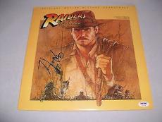 HARRISON FORD signed autographed RAIDERS OF THE LOST ARC SOUNDTRACK PSA/DNA LOA