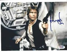 Harrison Ford Signed Han Solo Star Wars 8x10 Photo PSA DNA COA