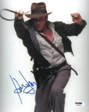 Harrison Ford Signed Indiana Jones Authentic 8x10 Photo (PSA/DNA) #K16896