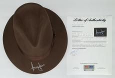 Harrison Ford Signed Indiana Jones Authentic Hat Psa Loa Ad03211