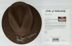 "Harrison Ford Signed Indiana Jones Authentic Hat W/""indiana"" Inscription Psa Loa"