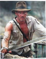 Harrison Ford Signed Indiana Jones Autographed 16x20 Photo (PSA/DNA) #T13758