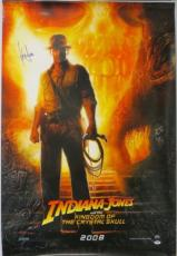 Harrison Ford Signed Indiana Jones Autographed 27x40 Movie Poster PSA/DNA