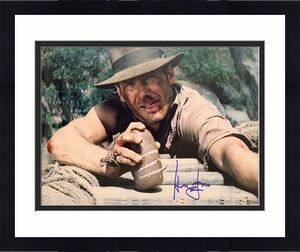 Harrison Ford Signed Indiana Jones Han Solo 16x20 Photo BAS Beckett Witness 6