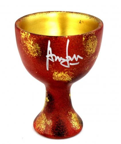 Harrison Ford Signed Indiana Jones Resin Replica Holy Grail Cup