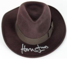 Harrison Ford Signed Indiana Jones Wool Fedora BAS #A00982