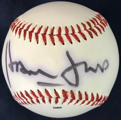 Harrison Ford Signed Official League Baseball (JSA)