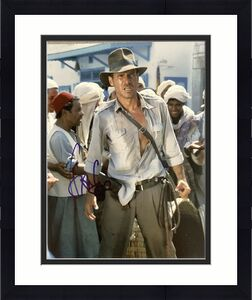 Harrison Ford Signed Photo 8x10 Autograph Indiana Jones Activist HanSolo JSA LOA