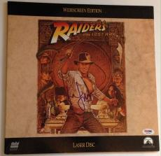 HARRISON FORD Signed RAIDERS OF THE LOST ARC Laser Disc MOVIE Album PSA DNA