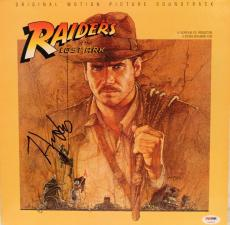 "HARRISON FORD Signed ""Raiders Of The Lost Ark"" Album LP PSA/DNA #Z02605"