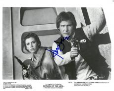 Harrison Ford Signed Return of the Jedi Auto 8x10 B/W Promo Photo PSADNA#AC06339