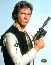 Harrison Ford Signed Star Wars Authentic Autographed 8x10 Photo (PSA/DNA)