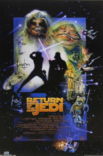 Harrison Ford Signed Star Wars Episode VI Return of the Jedi 24x36 Movie Poster