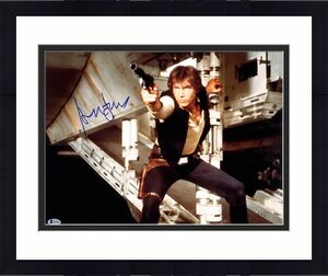 "HARRISON FORD Signed STAR WARS ""Han Solo"" 16x20 Photo Beckett BAS #A12105"