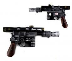 Harrison Ford Signed Star Wars Han Solo DL-44 Replica Blaster Prop