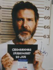 HARRISON FORD Signed THE FUGITIVE 16X20 Movie PHOTO Chicago PSA DNA