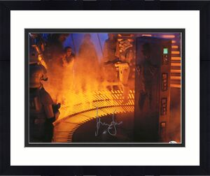 """Harrison Ford Star Wars Autographed 16"""" x 20"""" Han Solo in Cardonite Photograph"""