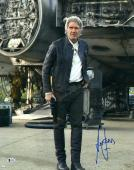 "Harrison Ford Star Wars Autographed 16"" x 20"" The Force Awakens Photograph - BAS"