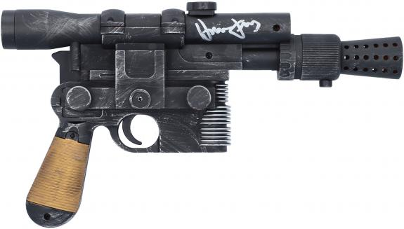 Harrison Ford Star Wars Autographed Blaster - BAS