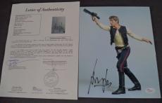 Harrison Ford Star Wars Movie Signed Autograph 8x10 Photo Rare Jsa Loa #z09441