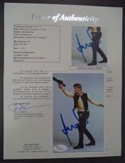Harrison Ford Star Wars Movie Signed Autographed 4x6 Photo Rare Jsa Loa #z09524