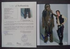 Harrison Ford Star Wars Movie Signed Autographed 8x10 Photo Rare Jsa Loa #z09525