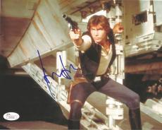 Harrison Ford Star Wars Movie Signed Autographed 8x10 Photo Rare Jsa Loa #z09528
