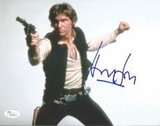 Harrison Ford Star Wars Movie Signed Autographed 8x10 Photo Rare Jsa Loa #z09529